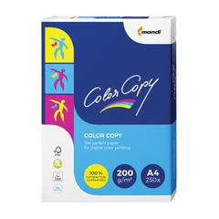 Бумага COLOR COPY, А4, 200 г/м2, 250 л., для полноцветной лазерной печати, А++, Австрия, 161% (CIE)