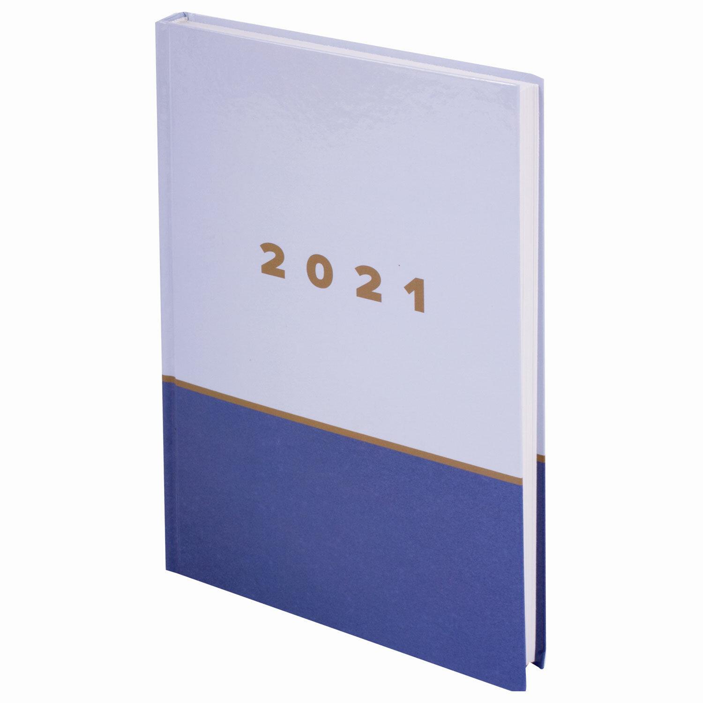 """Ежедневник датированный 2021 А5 (145х215 мм), ламинированная обложка, STAFF, """"Офис"""", 111819"""