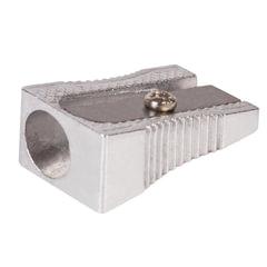 """Точилка BRAUBERG """"Style"""", металлическая клиновидная, в картонной коробке, 222484"""