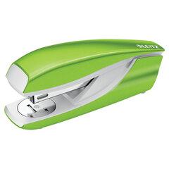 "Степлер №24/6, 26/6 металлический LEITZ ""New NeXXt WOW"", до 30 л., зеленый металлик, 55022054"