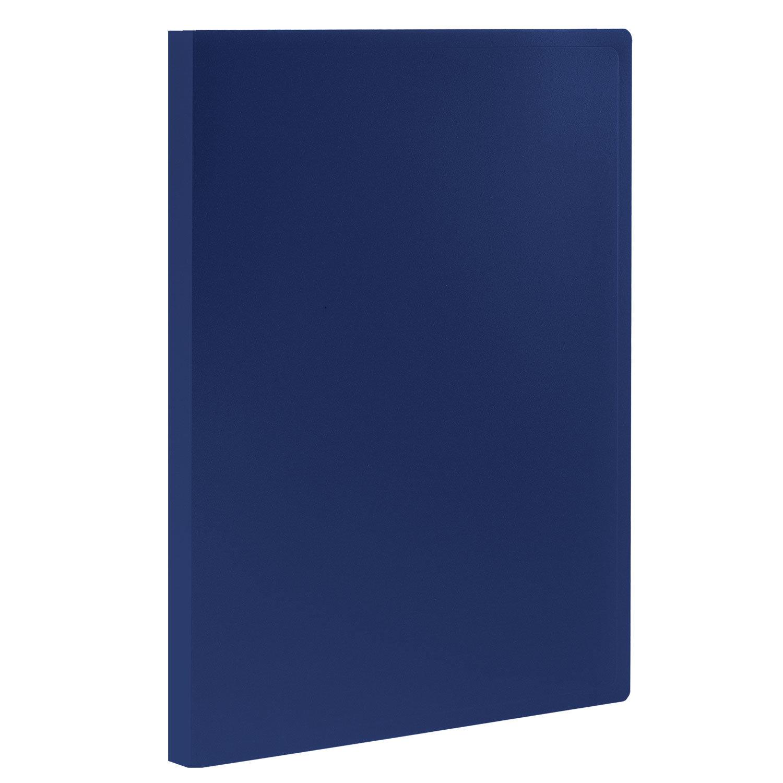 Папка 10 вкладышей STAFF, синяя, 0,5 мм, 225688