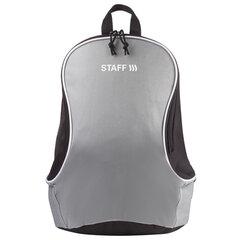 Рюкзак STAFF FLASH универсальный, серо-черный, 40х30х16 см, 227047
