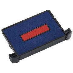 Подушка сменная (41х24 мм) ДЛЯ TRODAT 4755, сине-красная, 6/4750/2