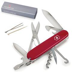 """Подарочный нож VICTORINOX """"Climber"""", 91 мм, складной, красный, 14 функций, 1.3703"""