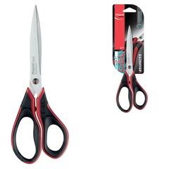 """Ножницы MAPED (Франция) """"Advanced Gel"""", 210 мм, прорезиненные ручки, черно-красные, 499210"""