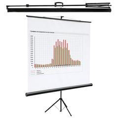 Экран проекционный на треноге (180х180 см), матовый, 1:1, DIGIS KONTUR-C, DSKC-1102