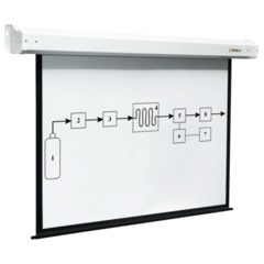 Экран проекционный DIGIS ELECTRA, матовый, настенный, электропривод, 154х270 см, 16:9, DSEM-162806