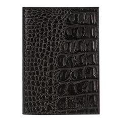 """Бумажник водителя BEFLER """"Кайман"""", натуральная кожа, тиснение, 6 пластиковых карманов, черный, BV.1.-13"""