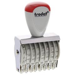 Нумератор ручной ленточный, 8 разрядов, оттиск 38х5 мм, TRODAT 1558