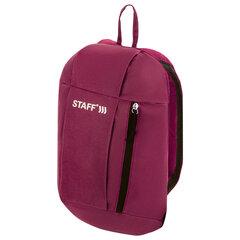 Рюкзак STAFF AIR компактный, бордовый, 40х23х16 см, 270290