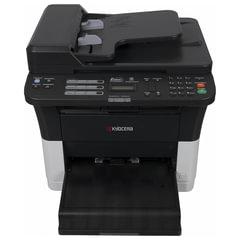 МФУ лазерное KYOCERA FS-1025MFP (принтер, сканер, копир), А4, 25 стр./мин., 20000 стр./мес., ДУПЛЕКС, с/карта, АПД, без кабеля USB