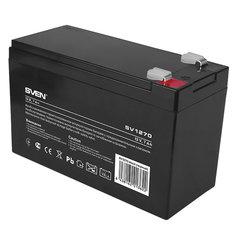 Аккумуляторная батарея для ИБП любых торговых марок, 12 В, 7 Ач, 151х65х100 мм, SVEN, SV-0222007