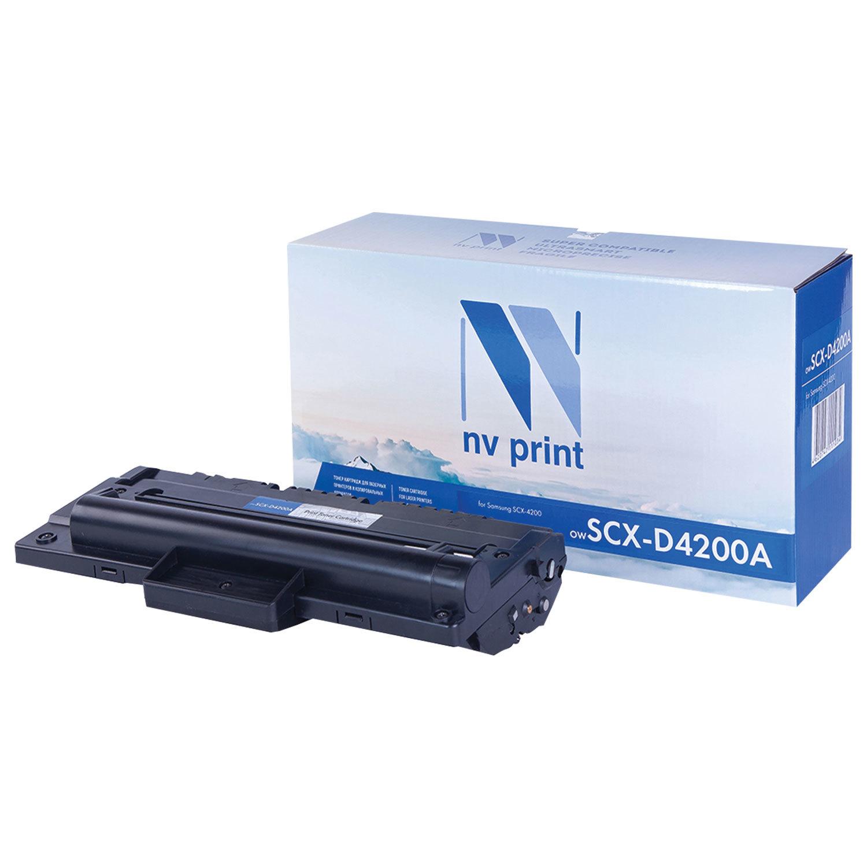 Картридж лазерный NV PRINT (NV-SCX-D4200A) для SAMSUNG SCX-4200/4220, ресурс 2500 стр.