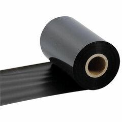 Риббон WAX, 110 мм х 300 м, диаметр втулки 25,4 мм (1 дюйм), красящий слой наружу (OUT), 363528