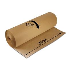Крафт-бумага в рулоне, 840 мм x 150 м, плотность 78 г/м2, Марка А (Коммунар), BRAUBERG, 440147