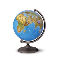 "Глобус физический/политический TECNODIDATTICA ""Orion"" (Италия), диаметр 200 мм, с подсветкой, 0320ORRS0FI1G12"