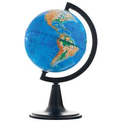 Глобус физический, диаметр 120 мм, 10001