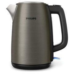 Чайник PHILIPS HD9352/80, 1,7 л, 2200 Вт, закрытый нагревательный элемент, нержавеющая сталь, титановый