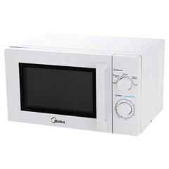 Микроволновая печь MIDEA MM720CY6-W объем 20 л, мощность 700 Вт, механическое управление, белая