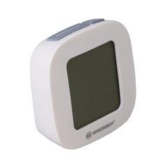Термометр для ванной комнаты BRESSER MyTemp WTM, цифровой, сенсорный термодатчик воды, будильник, белый