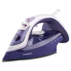 Утюг SCARLETT SC-SI30K37, 2400 Вт, керамическое покрытие, антинакипь, антикапля, фиолетовый
