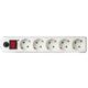 Сетевой фильтр SONNEN U-351, 5 розеток, с заземлением, выключатель, защита от перегрузок, 10 А, 1,8 м, 511424