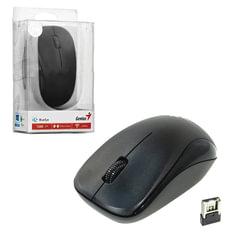 Мышь беспроводная GENIUS NX-7000, 2 кнопки + 1 колесо-кнопка, оптическая, чёрная, 31030109100