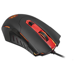 Мышь проводная игровая REDRAGON Pegasus, USB, 7 кнопок + 1 колесо-кнопка, оптическая, черная, 74806