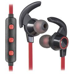Наушники с микрофоном (гарнитура) DEFENDER OUTFIT B725, Bluetooth, беспроводные, черные с красным