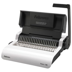 """Переплетная машина для пластиковой пружины FELLOWES """"PULSAR+"""", пробивает до 20 л., сшивает до 300 л., FS-56276"""