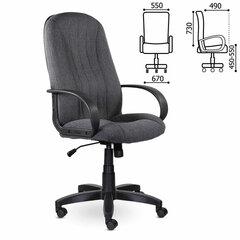 """Кресло офисное BRABIX """"Classic EX-685"""", ткань С, серое, 532023"""