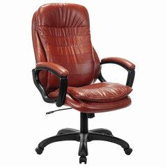 """Кресло офисное BRABIX PREMIUM """"Omega EX-589"""", экокожа, коричневое, 532096"""