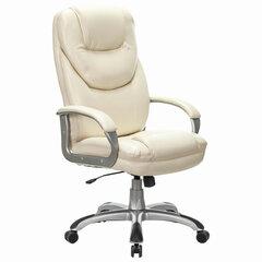 """Кресло офисное BRABIX PREMIUM """"Nord EX-590"""", серебристый пластик, экокожа, бежевый, 532098"""