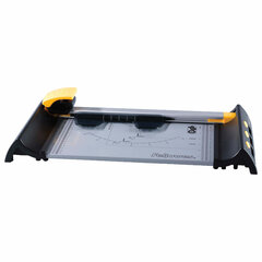 Резак роликовый ELECTRON A4, 10 л, длина реза 320 мм, металлическое основание, LED-указка реза, FELLOWES, FS-54104