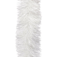 Мишура 1 штука, диаметр 100 мм, длина 2 м, белая