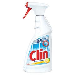 """Средство для мытья стекол и зеркал 500 мл, CLIN (Клин) """"Лимон"""", распылитель"""