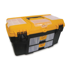 """Ящик для инструментов Уран, 21"""", 28х53х29 см, 3 бокса для мелочей, 2 выдвижные консоли, IDEA, М2927"""
