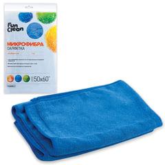 Тряпка для мытья пола, микрофибра, 50х60 см, FUN CLEAN, 6482