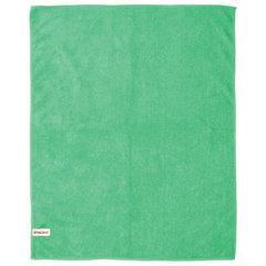 Тряпка для мытья пола из микрофибры, СУПЕР ПЛОТНАЯ, 50х60 см, зеленая, LAIMA, 601251