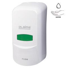 Диспенсер для жидкого мыла LAIMA PROFESSIONAL, НАЛИВНОЙ, 0,6 л, белый, ABS-пластик, 601423