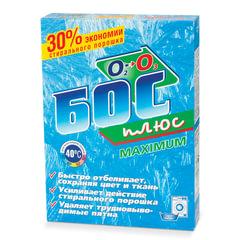 """Средство для отбеливания и чистки тканей 600 г, БОС плюс """"Maximum"""", порошок"""