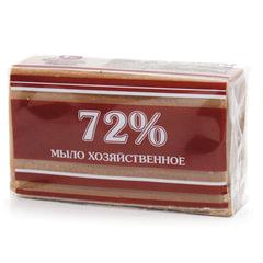 """Мыло хозяйственное 72%, 200 г (Меридиан) """"Традиционное"""", в упаковке"""