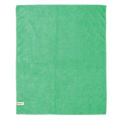 Тряпка для мытья пола из микрофибры, СУПЕР ПЛОТНАЯ, 70х80 см, зелёная, LAIMA, 603931