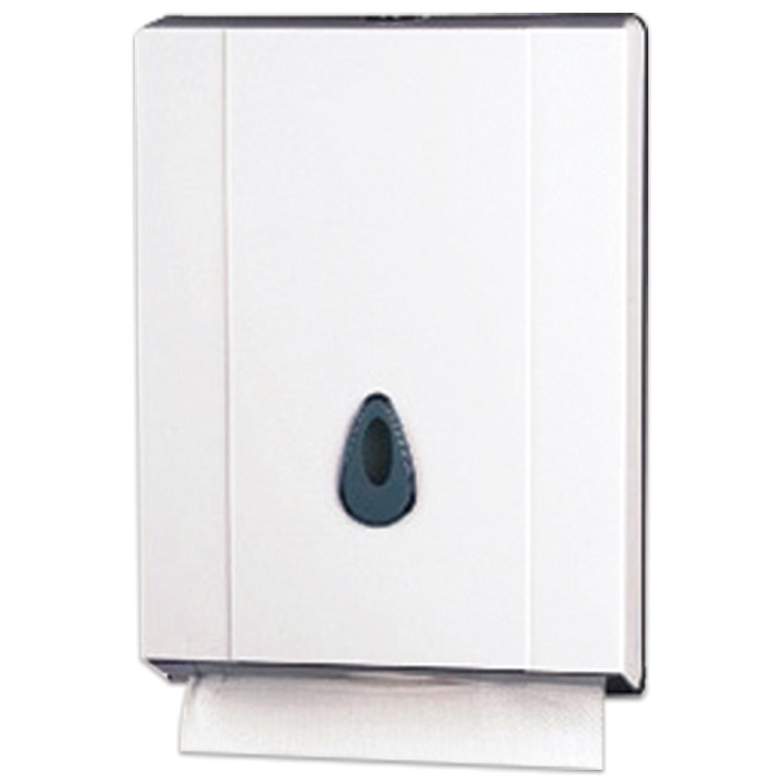 Диспенсер для полотенец KSITEX (Система H2), Interfold, белый, ТН-8035A