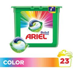 Средство для стирки в капсулах 23 шт. по 27 г, ARIEL (Ариэль) Color