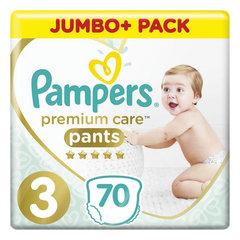 Подгузники-трусики 70 шт. PAMPERS (Памперс) Premium Care Pants, размер 3 (6-11 кг)