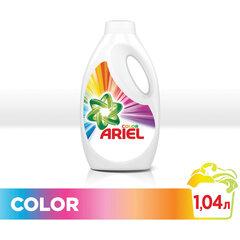 Средство для стирки жидкое автомат, 1,04 л ARIEL (Ариэль) Color, гель, концентрат