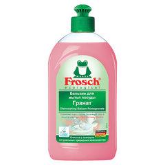 """Средство для мытья посуды 500 мл FROSCH """"Гранат"""" (Германия), бальзам, защита кожи рук, ЭКО, пуш-пул"""
