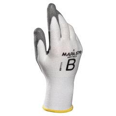 Перчатки текстильные MAPA KryTech 579, полиуретановое покрытие (облив), размер 9 (L), белые