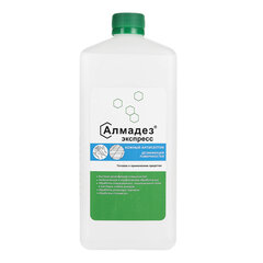 Антисептик для рук и поверхностей спиртосодержащий (63%) 1л АЛМАДЕЗ-ЭКСПРЕСС, дезинфицирующий, жидкость